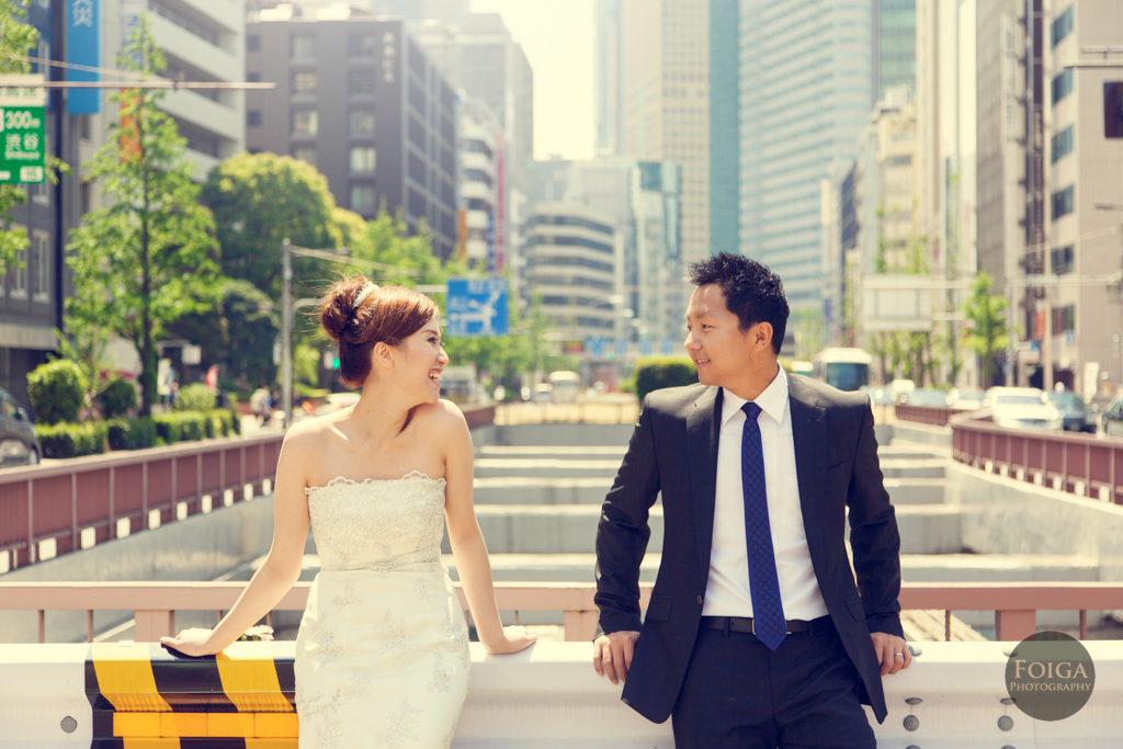 Tracy & Allen 東京自助婚紗