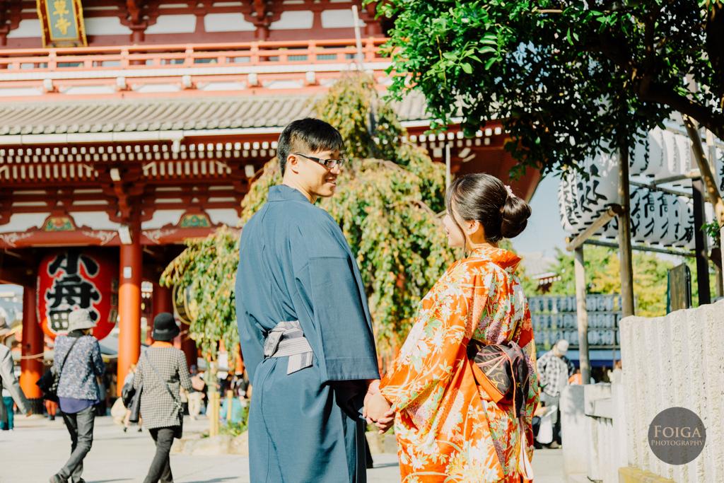 晉慶&國鈺 日本和服自助婚紗