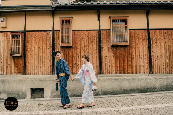 從倫敦牽手到京都