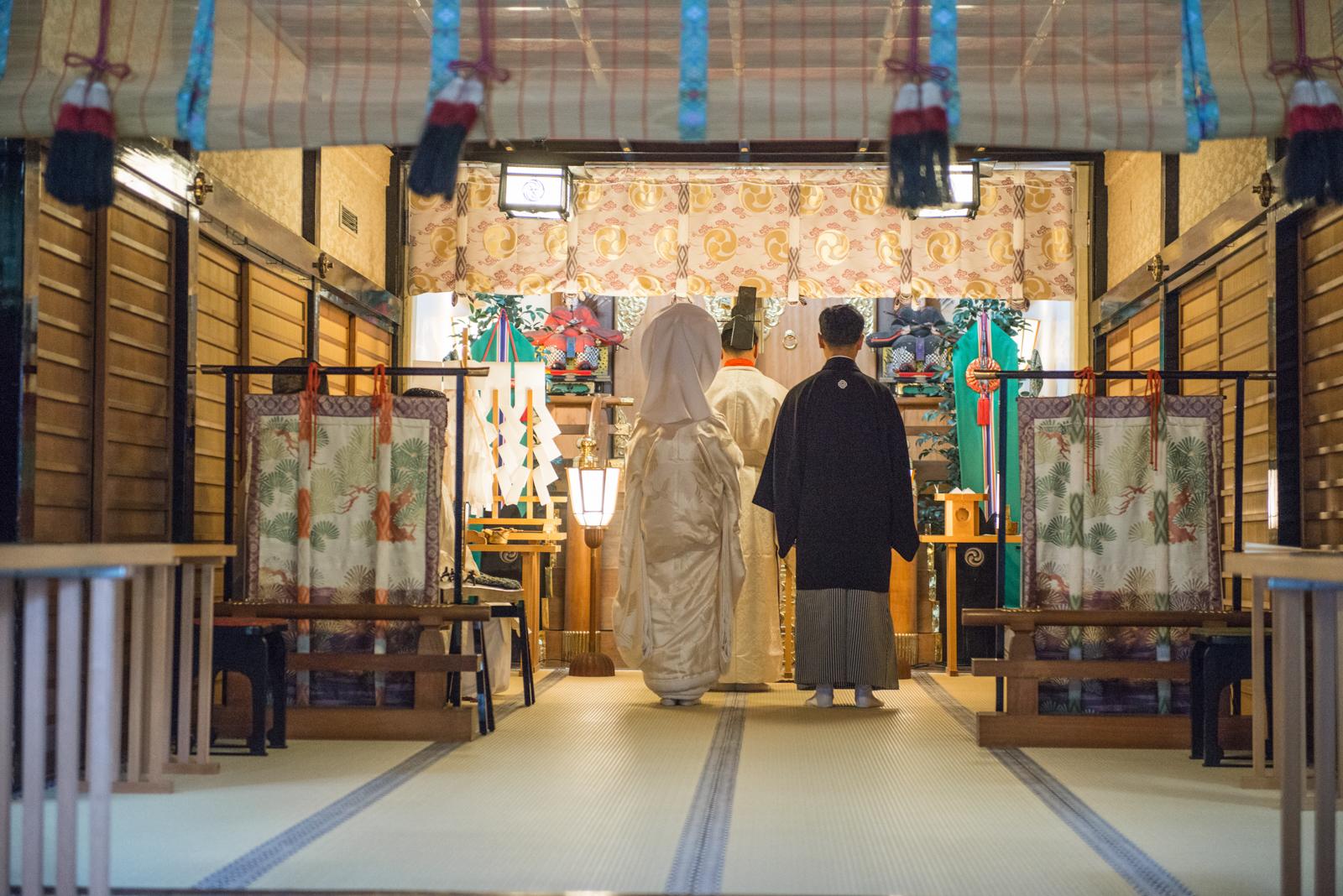 日式傳統婚禮@代々木八幡宮