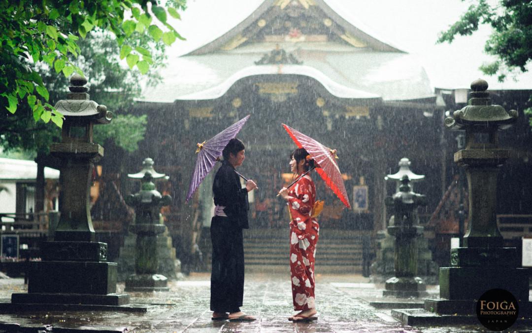 梅雨季的浪漫!